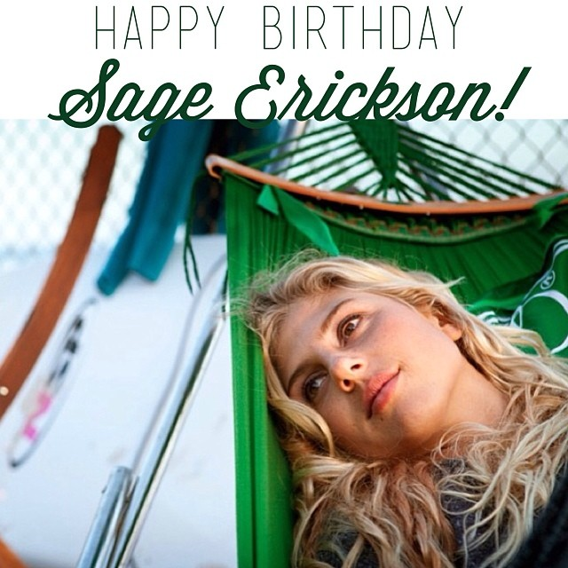 A very HAPPY BIRTHDAY to the wonderful #TeamB4BC surfer @sageerickson today!! Enjoy your 23rd year!