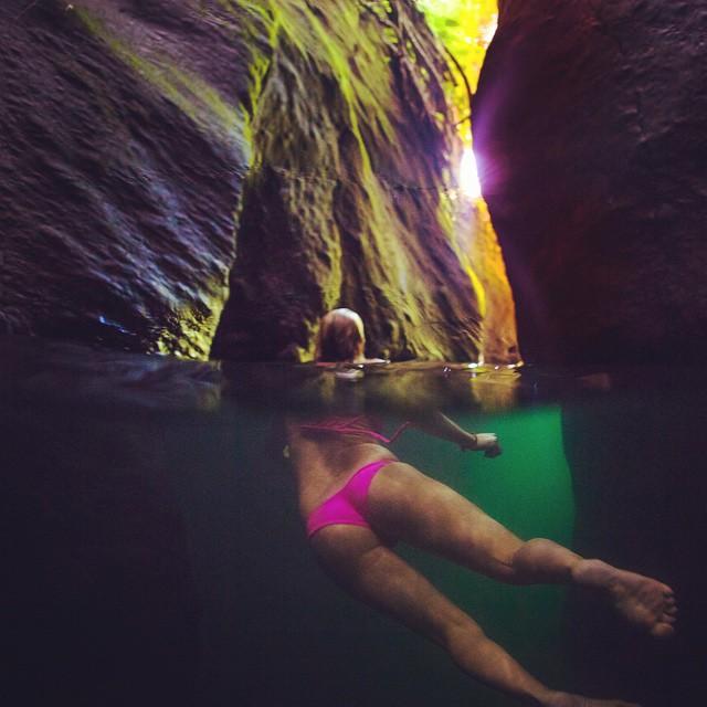 exploring Ti Tou Gorge with @alisonsadventures