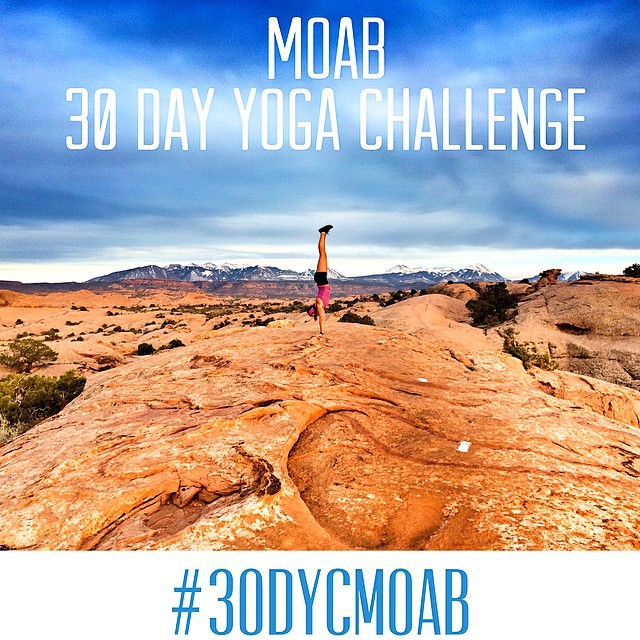 Do you have what it takes to complete a 30 day yoga challenge, Committing to your body, your mind and your spirit?  Starting April 1st, Re-ignite yourself and your practice with 30 days of unique flows and fun poses on the account @moab30dyc.  Commit...