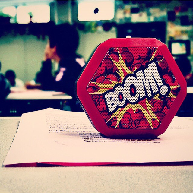 The Limited Edition @sketone REX making some noise in the classroom!