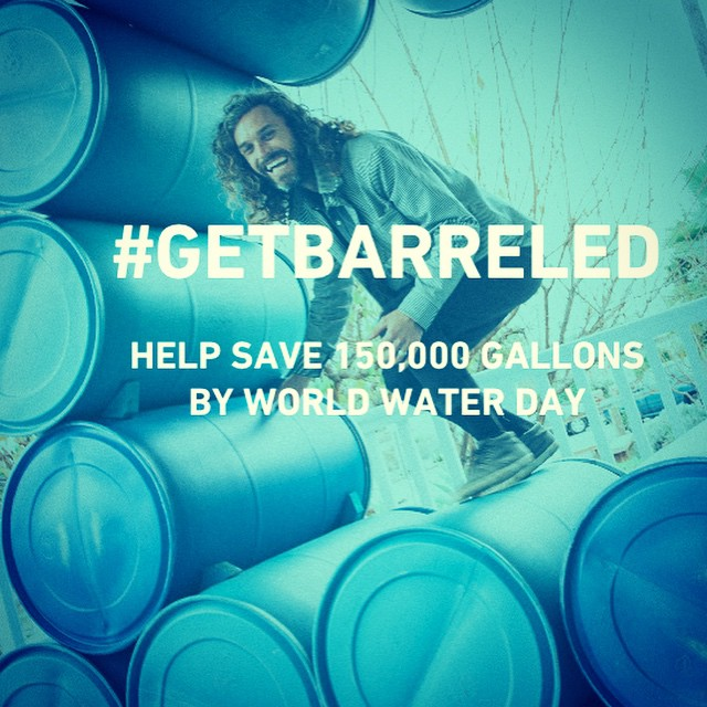 We lose thousands of gallons of fresh and free water every year when it rains here in CA. Rain water also carry harmful chemicals into our ocean and some of our favorite surf spots up and down the CA coast.  You can help change this by capturing rain...