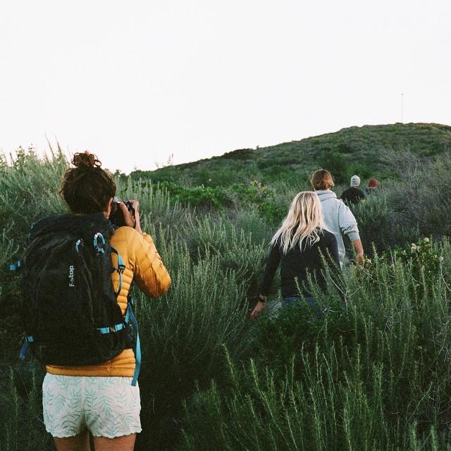 Morning bush whacking surf check #35mm