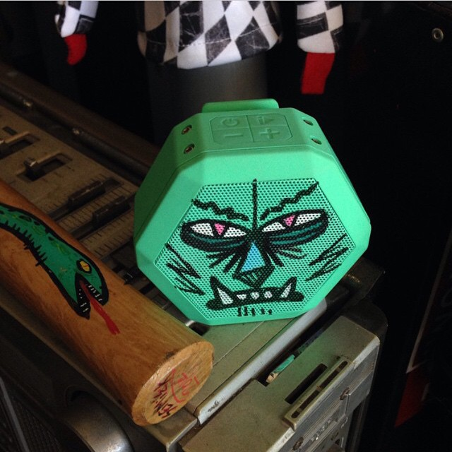 Gnarly custom mint REX designed by @seimiek! Share yours by tagging #boombotix