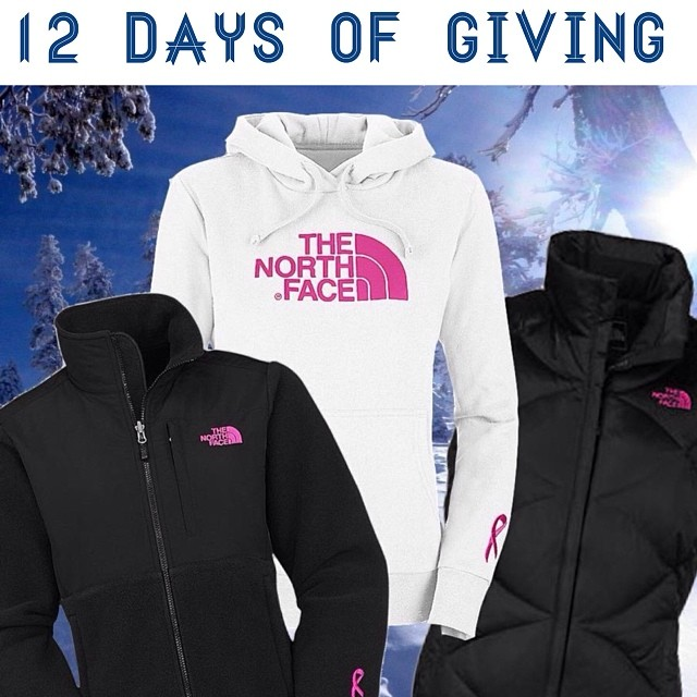 12 DAYS OF GIVING // The North Face DAY 6: We are b e y o n d excited to take these @thenorthface x B4BC collab pieces for a spin in the snow!  These are only 3 of the 10 amazing styles The North Face makes benefiting B4BC, check out the others at...