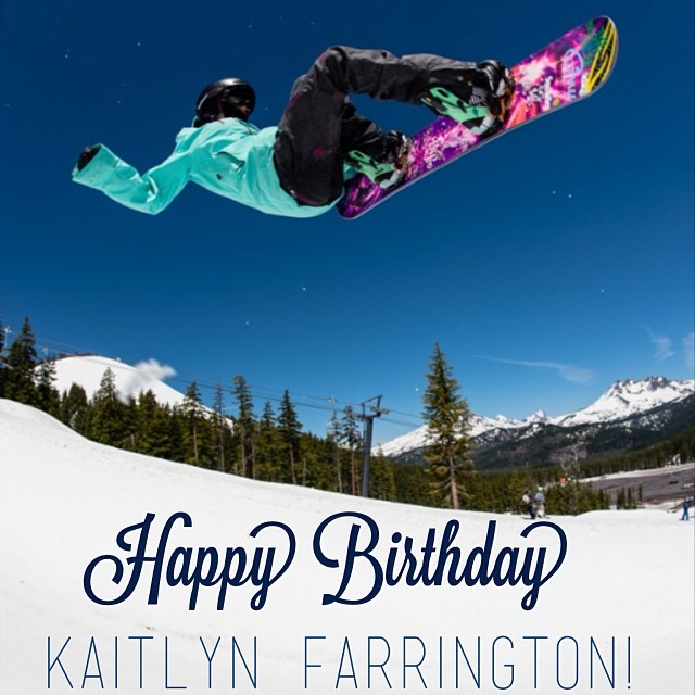 TEAM RIDER // Kaitlyn Farrington Wishing the happiest of birthdays to our amazing #TeamB4BC rider @kaitlynfarr!  Enjoy 24!