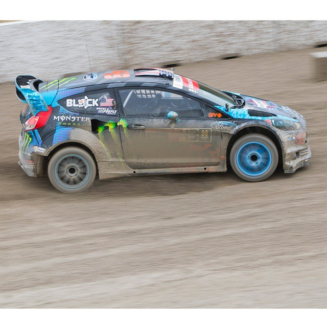 #TBT – @kblock43 earned ❌ Games RallyCross silver in 2013.  He will star in our #MonzaRallyShow this Saturday on ABC! (