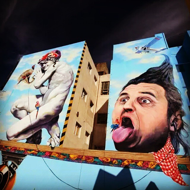 #streetart #martinron #buenosaires