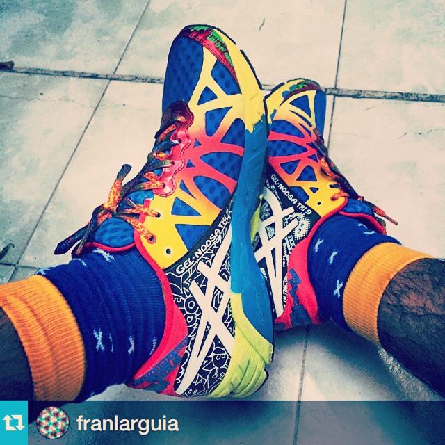 #Repost @franlarguia with @repostapp.・・・Entrenar perfecto con la dupla @asics + medias @tiendasuarez