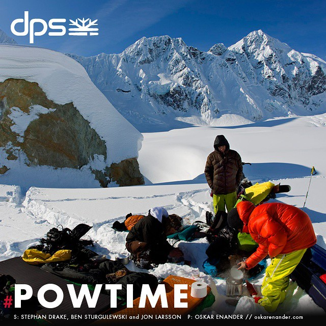 March in AK is a dreamland, c. 2009. Stephan Drake, Jon Larsson, and Ben Sturgulewski prep for a ten-day stay. Dial-in your deep snow quiver while storms keep coming with special incentives through April 1 during #Powtime. Learn more at dpsskis.com....
