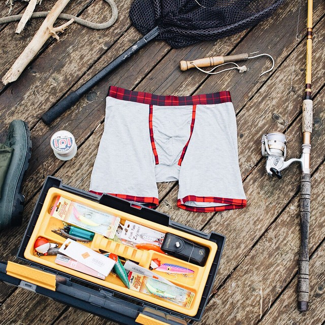 It's time to upgrade your tackle box. Stay dry and comfortable out there.  www.mypakage.com