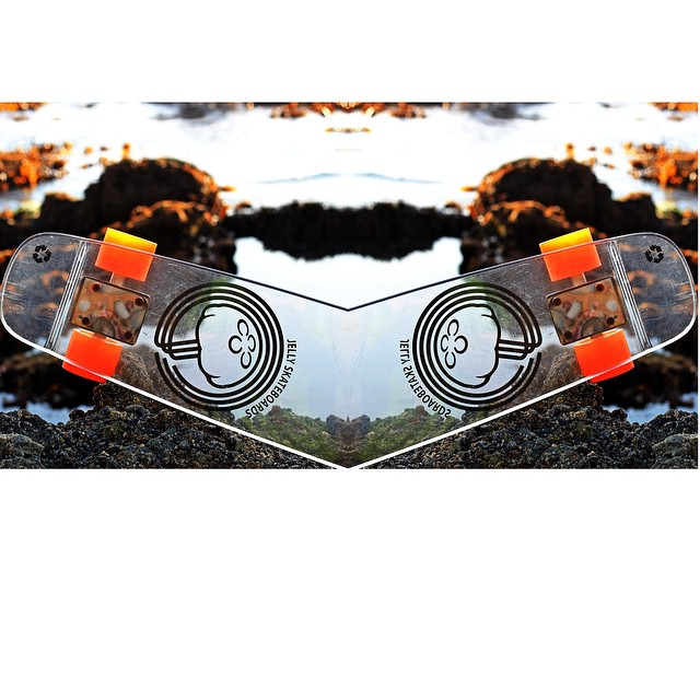 double the Jelly..double the fun #jellyskateboards #jellylife #windansea #skateboards