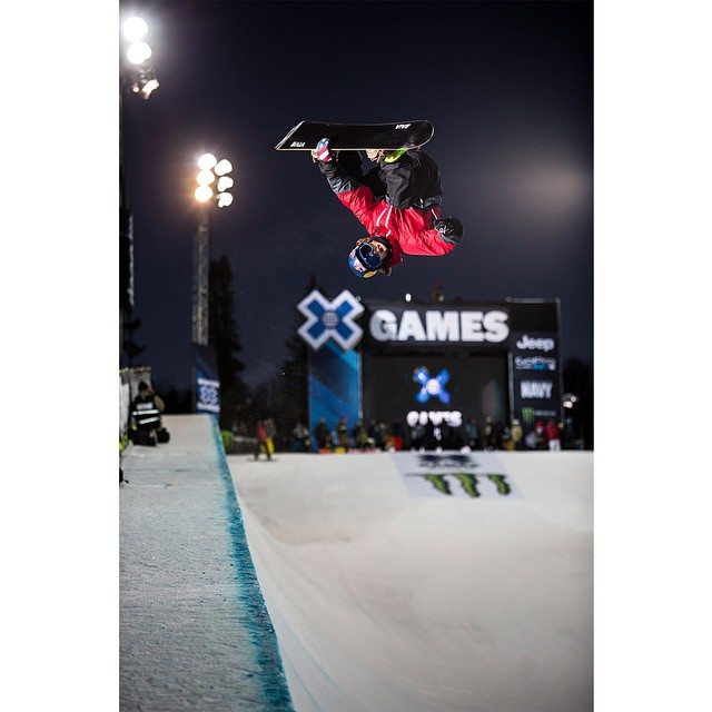 Three-time #XGames Snowboard SuperPipe medalist @louievito turned 27 years old today. (
