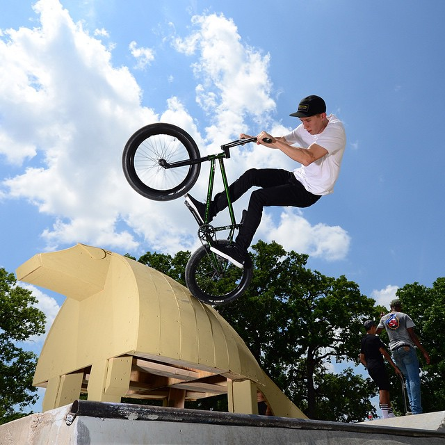 Our #ATXtakeover with defending ❌ Games BMX Park gold medalist and Austin native @Chase_Hawk is starting right now.  Oh yeah, we're gonna get weird!