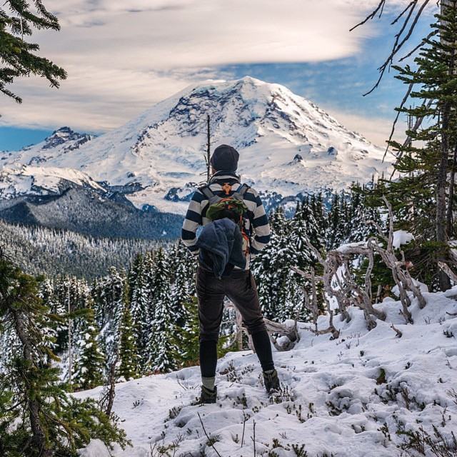 Adventures await! May this #radparks photo by @lonebuffalophoto in Mount Rainier National Park be your weekend inspiration. #parksproject