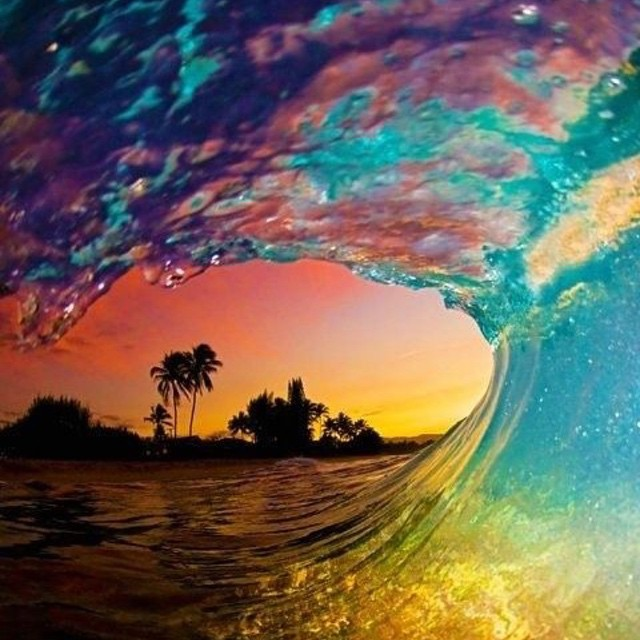 #tastetherainbow this Friday! #happyfriday #barrel #surf #borabora