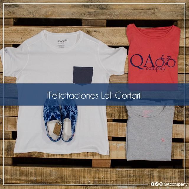 Felicitaciones @loligortari por ser la ganadora del sorteo de esta semana #SorteoQA #ActitudQA www.QA.com.ar