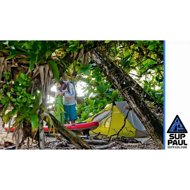 @suppaulclark camping in Panama with the Hala Nass.