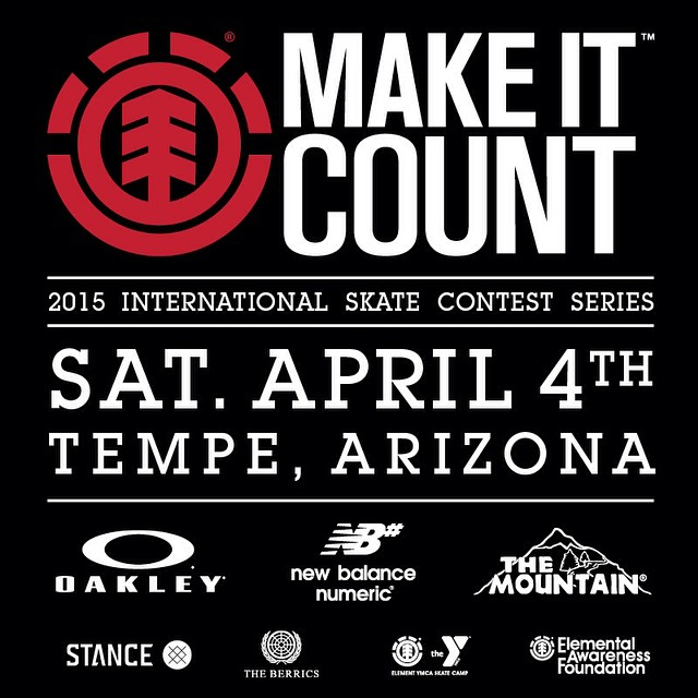 The 2015 @ElementMakeItCount International Contest Series is kicking off next weekend in Phoenix, AZ! To get more details on the first stop and to see all the events this year head over to the Element Make it Count web site, link is in our bio. No...