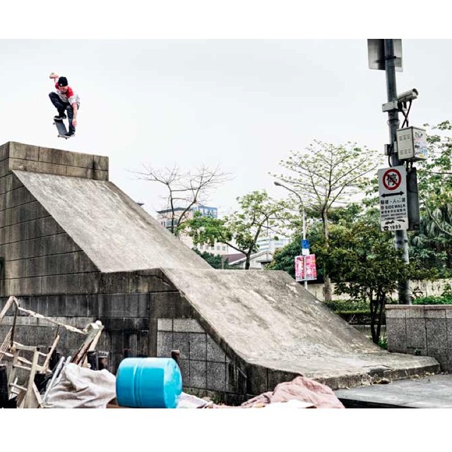 @nick_garcia >>> Ollie in Teipei >>> #nickgarcia