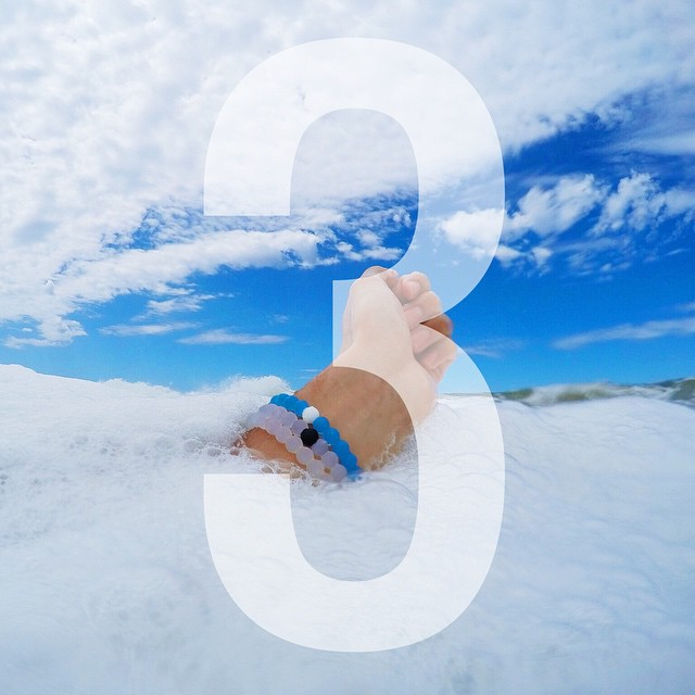 World Water Day is quickly approaching, you know what that means...3 days left to get your limited-edition blue lokai! #livelokai Thanks @carssun