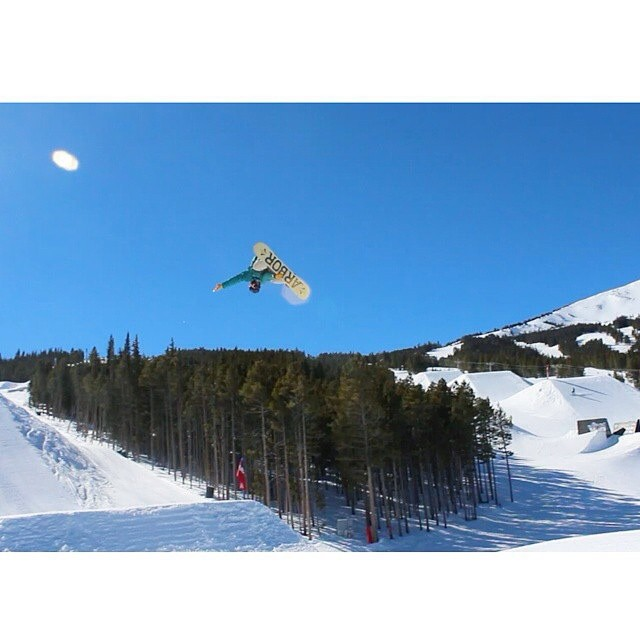 @jah_he  is still gett in' some shredding in! Where is your favorite spot to ride this winter?