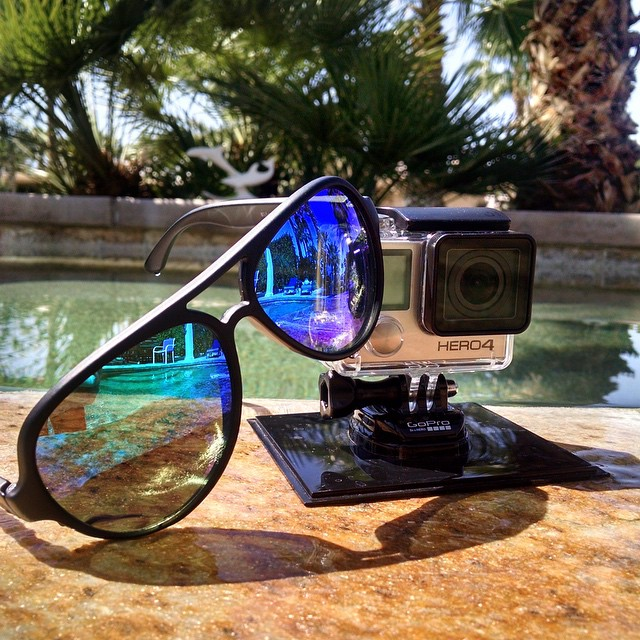 They just go well together. Get yourself the United Triple Set, it's perfect for anyone with a GoPro! Kameleonz.com