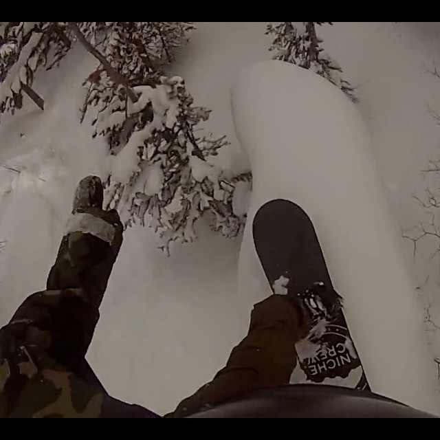 If you happen to be cruising Facebook, click over to the Niche page and check out this edit from team rider Brian Berec (@bberex) full of homies, powder, and good boardin....as well as some good tunes.