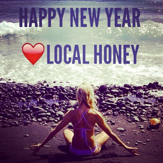 Wishing everyone a wonderful, light filled New Year!! #happynewyears #newbeginnings #love #light #january1 #2014 #localhoneydesigns #swim #bikinis #sup #supyoga #yoga #localhoney #travel #adventure #borabora #sunshine #om #meditation #ocean #peace...