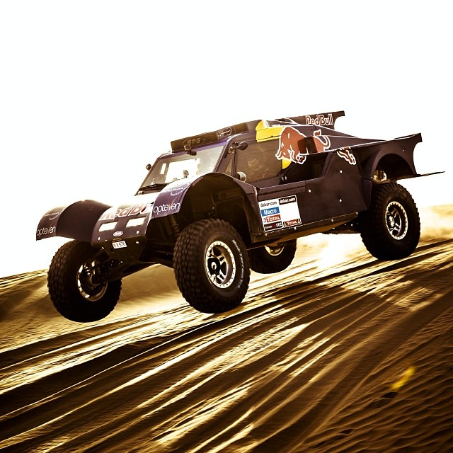 Revved up and raring to go. #Dakar2014 #DesertWings
