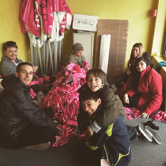 #pinkvail today! SOS kids are doing their part to fight cancer by volunteering at the event. See you there!