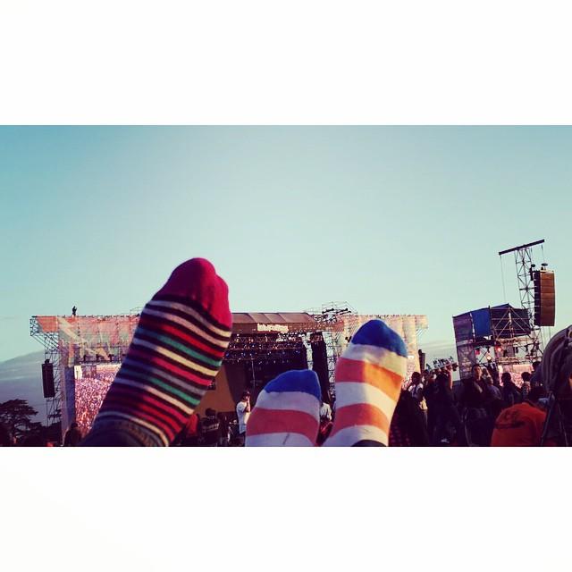 @tiendasuarez presente en el @lollapaloozaar #style #socks #lollapalooza #MediasConOnda