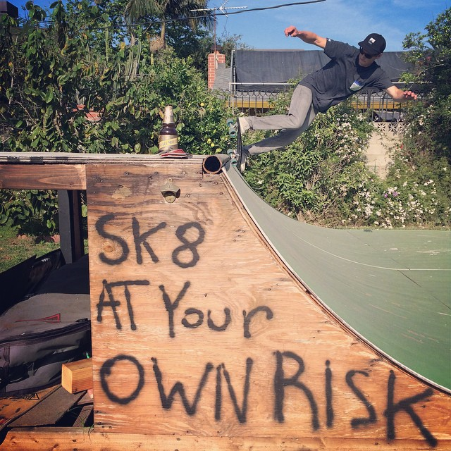 Risk free afternoon in Venice. @surfisswell @surfisswellbro #NetsToDecks
