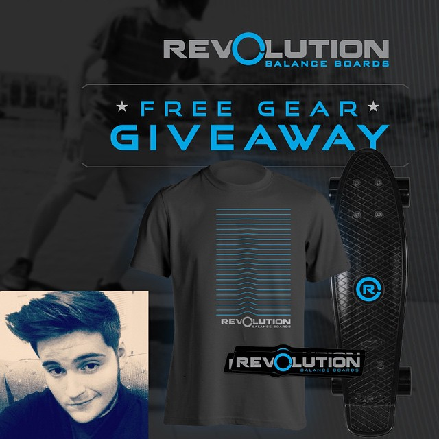 Congrats to Alex K. aka @alexkingsbury98 from New York for winning the March Revolution giveaway. He will be getting mini-cruiser skateboard, t-shirt and sticker pack! --------------------------------------------------- Make sure you check your email...