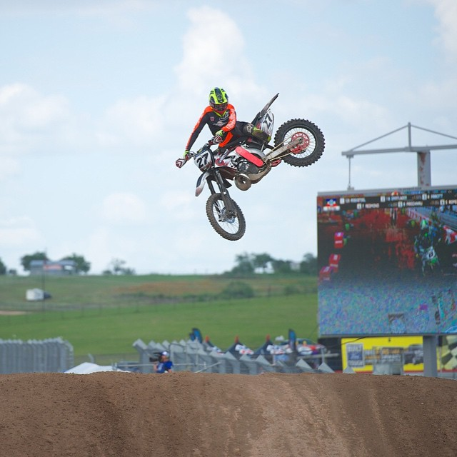 Six-time #XGames Motocross Enduro X competitor @wildwallypalmer turned 30 years old today. (