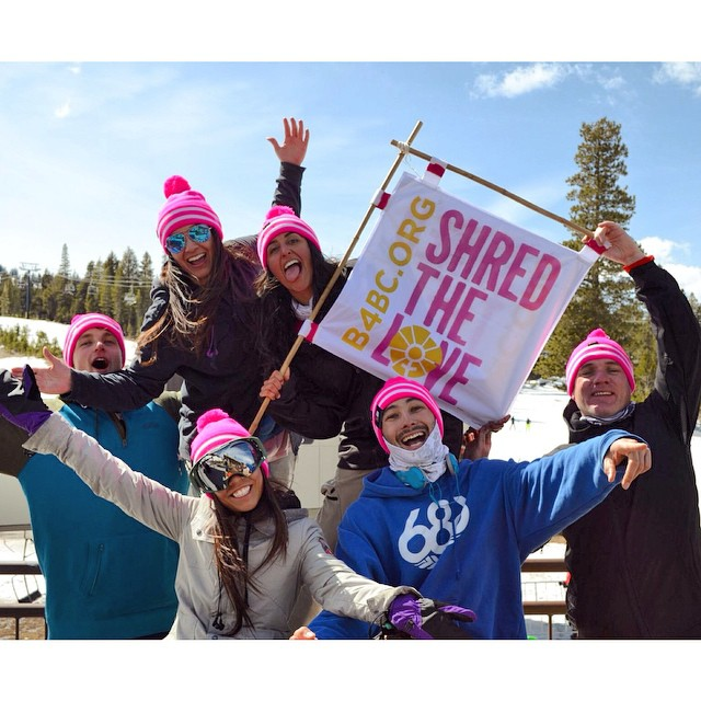 We had a blast shredding the love at sunny #MammothMountain yesterday!  A huge thanks to all of our fundraisers and volunteers who came out to support, and to @mammothmountain and @oakleywomen for helping make this event possible! Keep shredding the...
