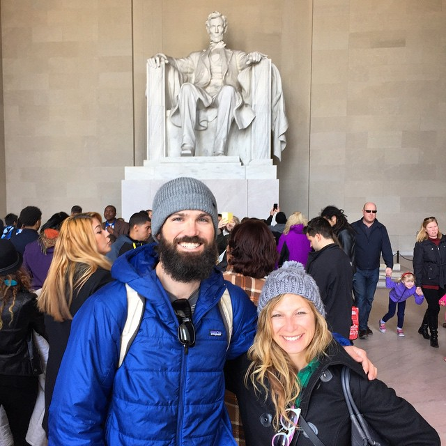 The ultimate in beard inspiration #WashingtonDC #lincolnmemorial #dc #beard #sightseeing