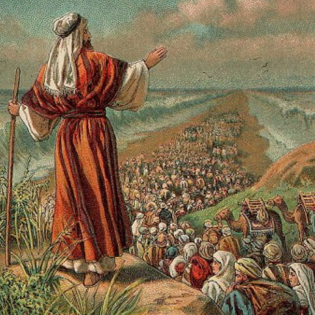 "Then Moses said to his ten thousand followers - ""go forth and skate the path of righteousness"" #10Kmonday"