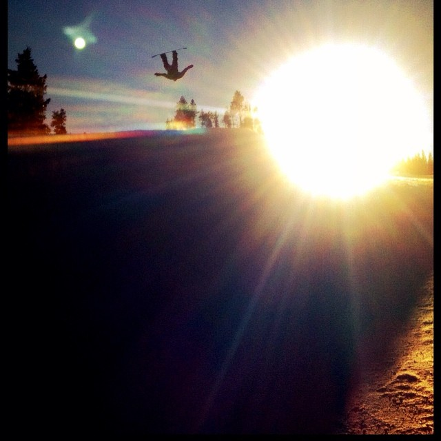 Ryan Arrington getting wild with it!  We love you Ryan! Happy new year.#forridersbyriders #handmadelaketahoe