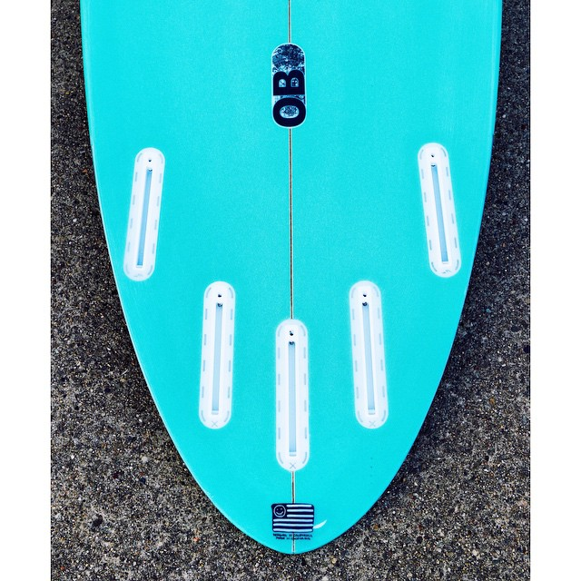 OB back end ⚓️#awesome #awesomesurfboards #shredsled #roundedpin #surfing #madeincalifornia