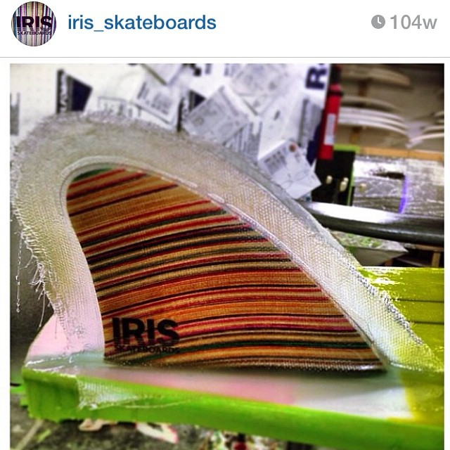 Recycled fins are so hot right now! #recycledskateboards #irisskateboards #sunsetshapers #authenticityisnotdead #irideirecycle  @irideirecycle