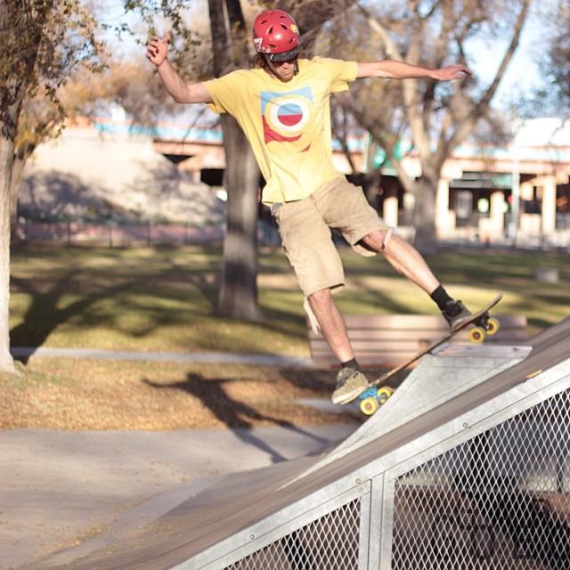 Chris Cade skateparkin it up on the #Tesseract @orangatangwheels