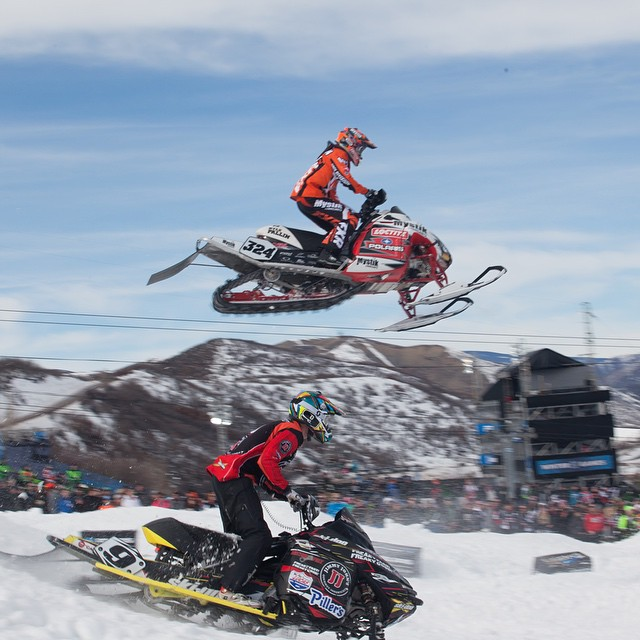 Four-time #XGames Snocross racer @kylepallin turned 24 years old today.