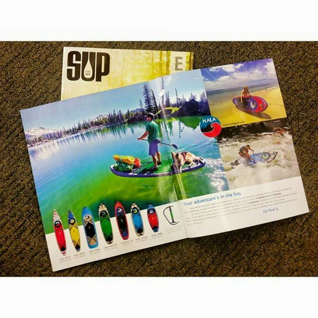 Check out the #halagear ad in #supthemag !! #halasup #adventuredesigned #whitewaterdesigned #sup #standuppaddle #theweeklyinsta #stand_up_paddle #riversup #paddleboard #supyoga #standuppaddleboard