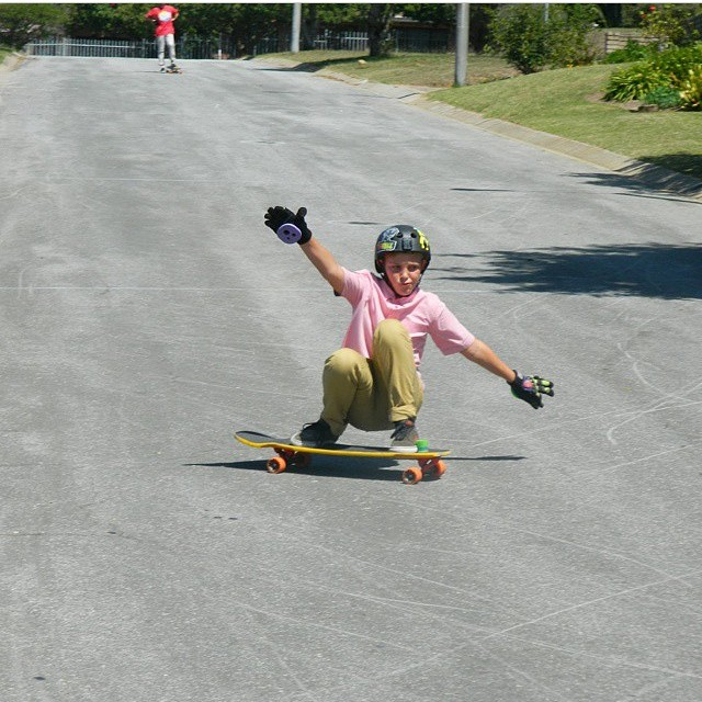 @dietrugermann steezing the skate face while getting sideways #keepitholesom