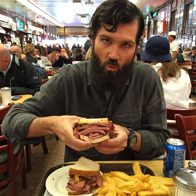 When Harry Met Sally #katzs #nyc #pastrami #sandwich #newyorkcity #eastcoasttour