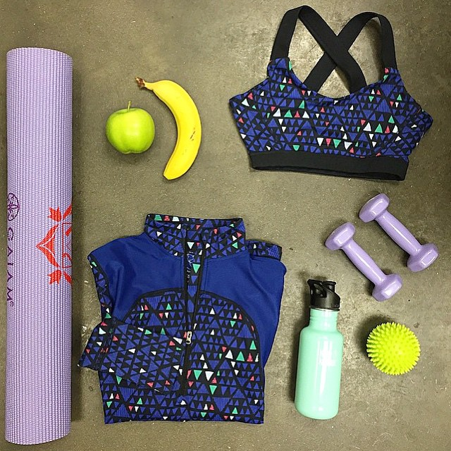 Feeling #inspired by @WholeFoodsNYC's look for a #workout tonight!