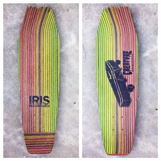 With Fiends like these, who needs enemies. These limited edition Iris/Creature boards are sold out but we will definitely be making more soon. Stay tuned! #recycledskateboards #irisskateboards #creatureskateboards @creaturefiends