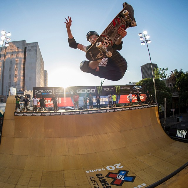 """""""I am the real deal.  I'm scarred up and still skating.""""-10-time #XGames gold medalist @tonyhawk ("""