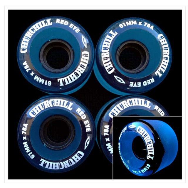 Unearthed a few sets of these @churchillmfg #churchillmfg #redeye #usamade #cruiser #wheels #longboard #longboarding #skatelife #carve #cruise #concretewave #cali #beachlife #surf #skateboard #love #instagood