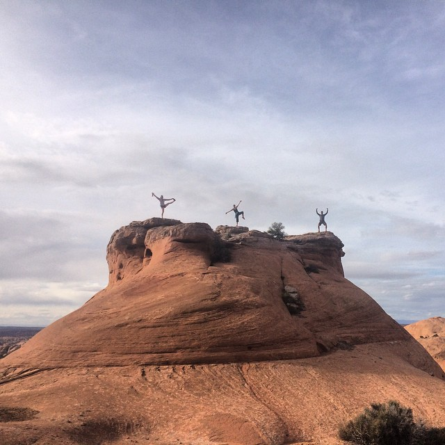 Day one of the ASC annual retreat is coming to a close, and we're making plans to change the world. #Moab, Utah.